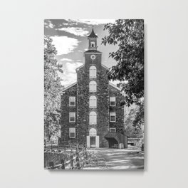 Hagley Yard of Eleutherian Mills Delaware Historic Site Powder Mill Metal Print