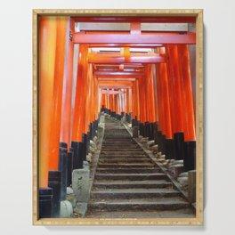Fushimi Inari Gates Serving Tray