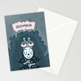 Queen of All-Nighter Stationery Cards