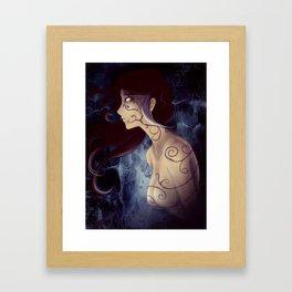 Tentacles of Darkness Framed Art Print