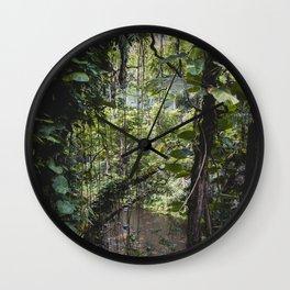 Hidden Jungle River Wall Clock