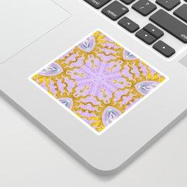 Jeweled suns Sticker
