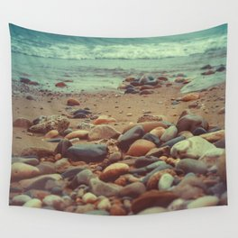 Throwing Stones Wall Tapestry