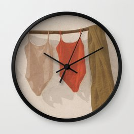 My Clothes Wall Clock