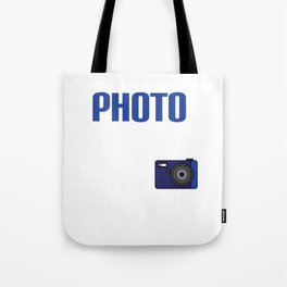 Realists Quote T-Shirt Design Photo Real Ism Tote Bag