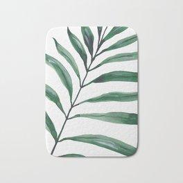 Tropical Greenery - Palm Tree Leaf Bath Mat