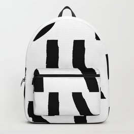 Fragments of Rhizome Paths no. 3 Backpack