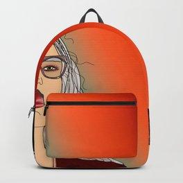 Social Jetlag - Mean Girls Stare, Nice Girls Smile - Digital Art Backpack