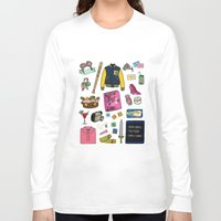 mean girls Long Sleeve T-shirts featuring Mean Girls by Shanti Draws