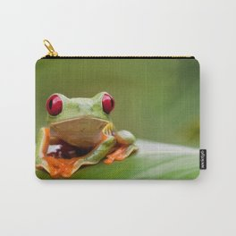 Posion Dart Frog Painting Carry-All Pouch