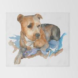 DOG#21 Throw Blanket