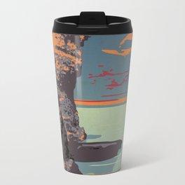 Fathom Five National Park Poster (Flowerpot Island) Travel Mug