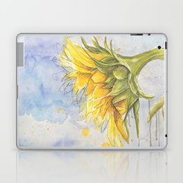 Helianthus annuus: Sunflower Abstraction Laptop & iPad Skin