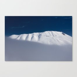vettore mount with snow  Canvas Print
