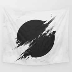 The Sun Is Black Wall Tapestry