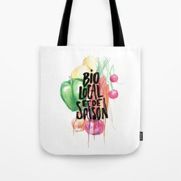 Bio, local et de saison Tote Bag