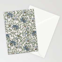 Joan Print- in $elf Made Ivory Stationery Cards