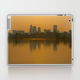 Come Sit With Me At Sloan Lake Downton Denver Colorado Laptop & iPad Skin