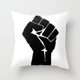 BLM Fist Throw Pillow