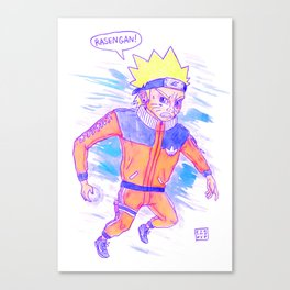 RASENGAN Canvas Print