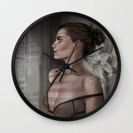 Always looking for something Wall Clock