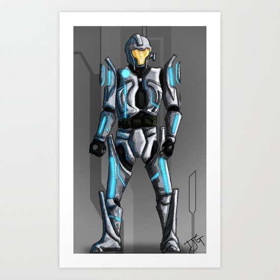 Perfect Protection Art Print