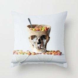 Cereal Killer #2 Throw Pillow