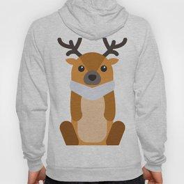 Reindeer Christmas Hoody