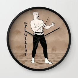 The Pugilist Wall Clock
