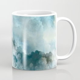 """Cotton clouds blue Heaven"" Coffee Mug"