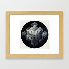 Geometry of Ecology Framed Art Print