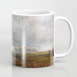 Johan Christian Dahl - The Elbe On A Foggy Morning - Digital Remastered Edition Coffee Mug