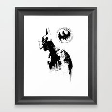 BADMAN Framed Art Print