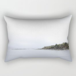 Arrival at the isle of Skye Rectangular Pillow