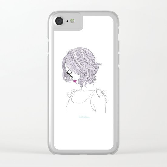 LILAHAIR Clear iPhone Case