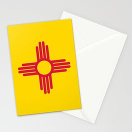 New Mexico Flag Stationery Cards