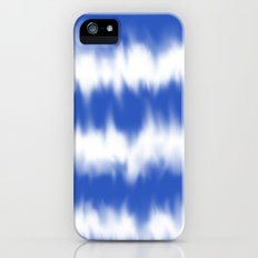 Blue tie dye iPhone (5, 5s) Slim Case