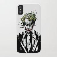 joker iPhone & iPod Cases featuring Joker. by CJ Draden