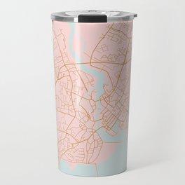 Galway map Travel Mug