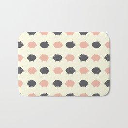 Sweet piggy Bath Mat