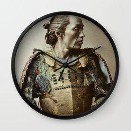 Kusakabe Kimbei - Samurai - Vintage Photo Wall Clock