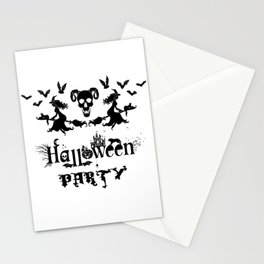 Happy Halloween Party -  Perfect gift idea for everyone on Halloween Holiday. Stationery Cards