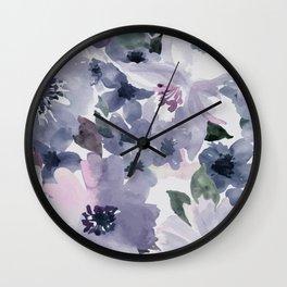 Floral Pattern#6 Wall Clock