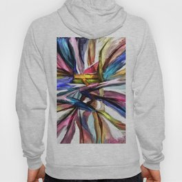 Colored Ribbons Hoody