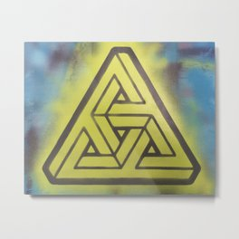 Penrosian Triad Metal Print
