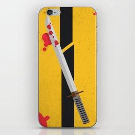 KILL BILL Tribute iPhone Skin