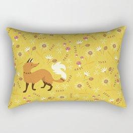 Cute as a Fox Rectangular Pillow