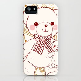 The Adventures of Bear and Baby Bear-Pastry iPhone Case