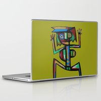 dancer Laptop & iPad Skins featuring Dancer by Rudolf Brancovsky