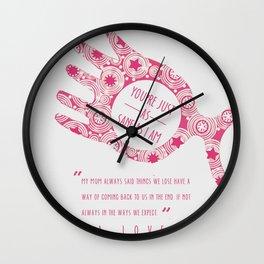 loony luna lovegood Wall Clock